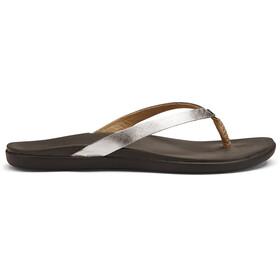 OluKai Ho'opio Sandaler brun/sølv